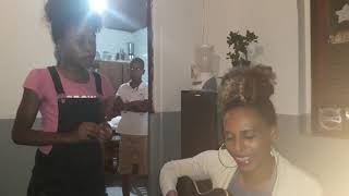 Cantam Lara e Denise Reis, Morro de Chapeu/BA