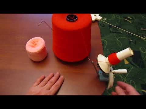 Перемотка ниток для вязания 47