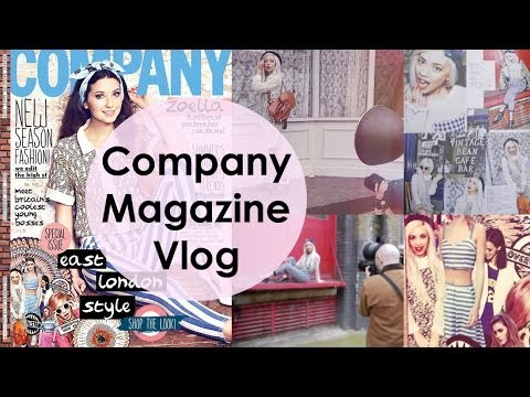 Company Magazine Photoshoot | Vlog #10
