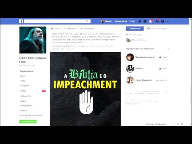 """Livro  """"A Bíblia e o Impeachment """". Não deixe de ler! - Link de download na descrição."""