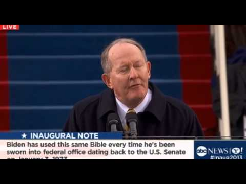 Sen. Lamar Alexander Speech - Obama Inauguration (1/21/13)