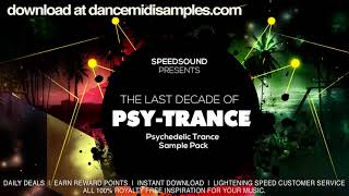 🔴 The Last Decade of Psytrance @ Psychedelic Trance Sample Pack 5.03 MB