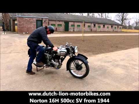 Norton 16H 500cc SV from 1944