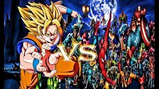 Goku Vs The Marvel Universe