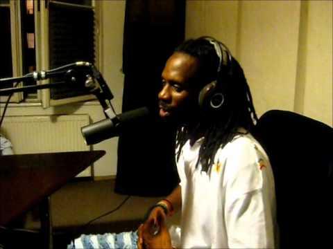 GENERAL LEVY - interview & new tune live! (Radiofonia drumatyczny piątek 2012)