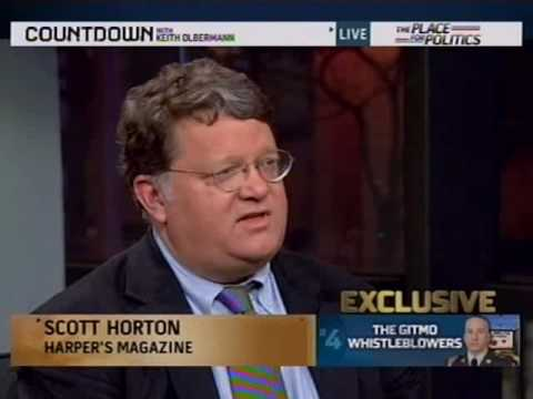 1/18/10 Harpers Reporter Talks About Joseph Hickman Interview on MSNBC