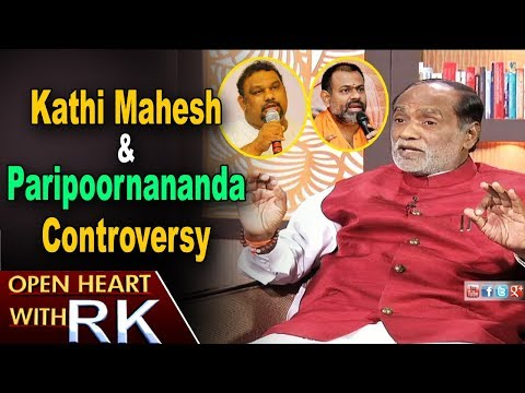 TS BJP President K Laxman about Kathi Mahesh and Paripoornananda Controversy   Open Heart with RK
