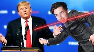 MAN SAVES DONALD TRUMP FROM ASSASSIN! (Mr President)