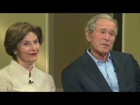 George W. Bush opens up about his Presidency