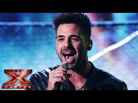 Ben Haenow sings AC DCs Highway To Hell Live Week 4 The X Factor UK 2014