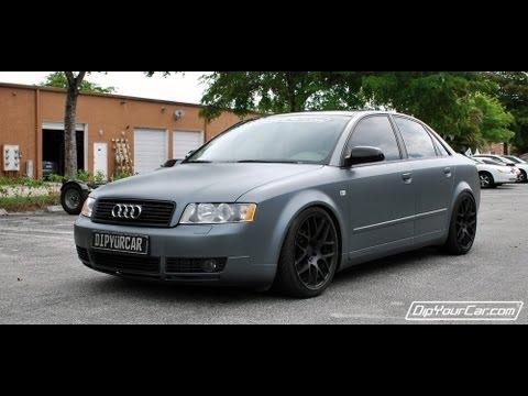 Metallic Grey Plasti Dip Car - Black + Pearlizer