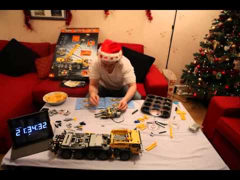 Lego Technic 42009 - Mobile Crane MK II - Timelapse Build
