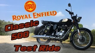 Royal Enfield Classic 500 Test Ride