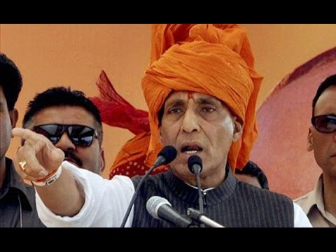 Rajnath Singh hits back at Sonia Gandhi