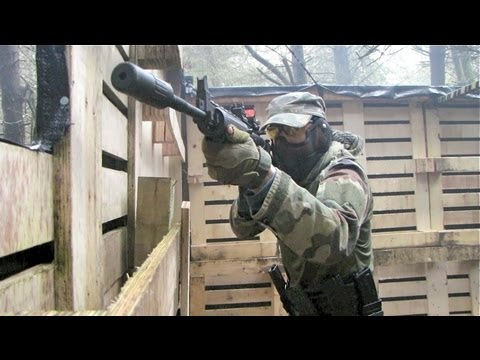 Airsoft War Ares M60, Echo1 TimberWolf Pistol Section8 Scotland
