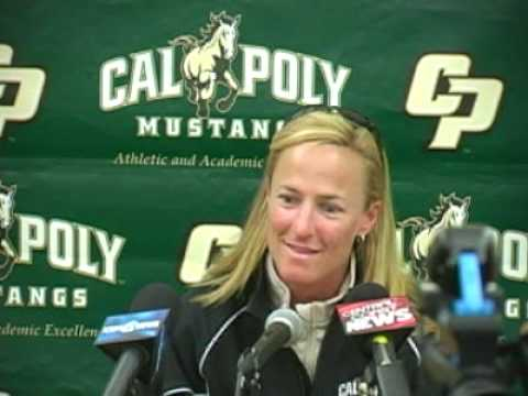 Cal Poly Softball Coach Jenny Condon