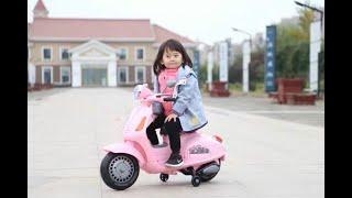 Xe máy điện trẻ em Vespa YH-8820 - xechobe.com.vn