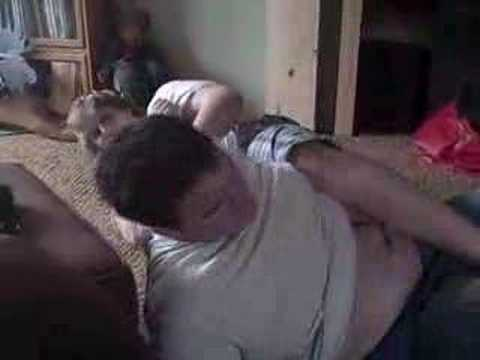 fat kids wrestling Video