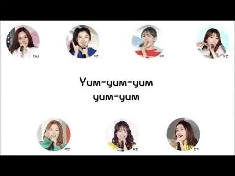 Produce 101 3차 콘셉트평가 7 Go Up - Yumyum 얌얌  가사 Lyric