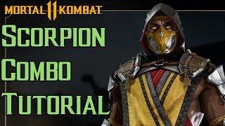 Scorpion Combo Tutorial [Mortal Kombat 11]