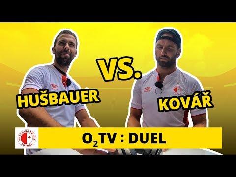 O2 TV Duel: Josef Hušbauer a Přemysl Kovář odezírají ze rtů