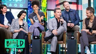 "The Cast & Director of ""Deadpool 2"" Chat About The Highly-Anticipated Movie"