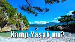 Antalya Adrasan Korsan Koyu Kamp part1