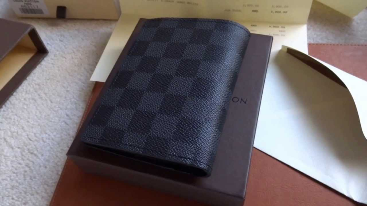 fake louis vuitton james wallet telltale youtube