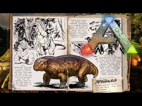 Ark: Survival Evolved - Spotlight: Lystrosaurus, Sabertooth Salmon, and Arthropluera!