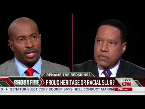 Crossfire: Rep. Eleanor Holmes Norton and Larry Elder debate 'Redskins' name (part 2/3)