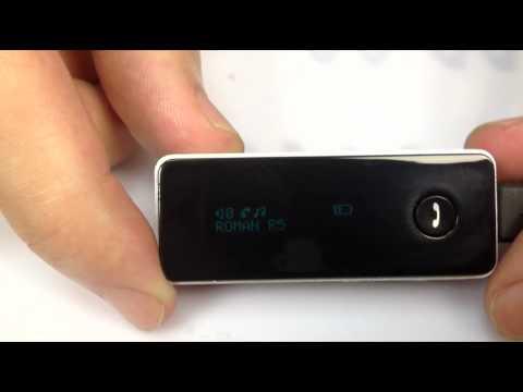 R5 Stereo Bluetooth Headset Headphone Caller ID Display+FM Radio