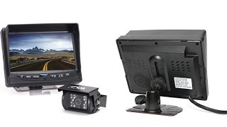 Rear View Safety RVS-770613 Video Camera With Color CCD Infra Red Weather Proof Backup Camera
