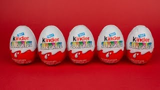 Five Cool Kinder Surprise Eggs