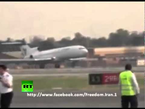 'Miracle' landing without nose gear: Iran Air ace saves lives on Boeing 727
