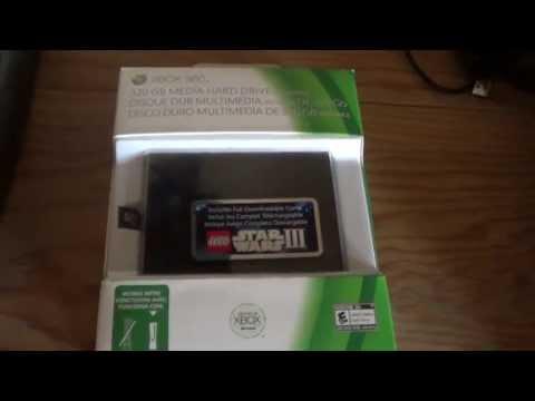Unboxing y como instalar Disco Duro 320 Gb Xbox360