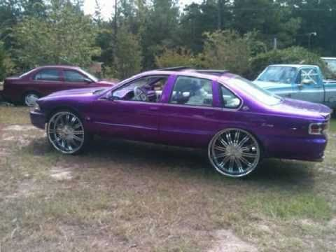 Bubble Chevys On 28s !!!!