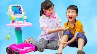 Trò Chơi Vứt Rác Đúng Nơi Quy Định - Bài Học Cho Bé ♥ Min Min TV Minh Khoa