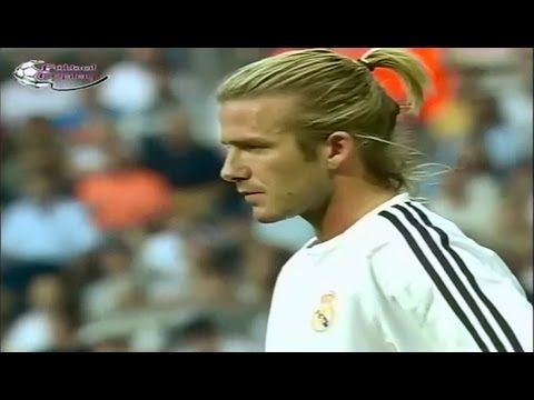 David Beckham Vs Real Betis II Debut for Real Madrid
