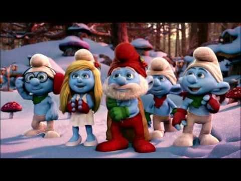 Pitufo Cantando Navidad Los Pitufos Feliz Navidad