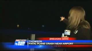 BREAKING NEWS - Five dead after small jet crashes in eastern GA Georgia