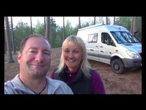 Teil 5 Sprinter4x4: Wir reisen mit unserem Allrad-Camper-Van durch Schweden.