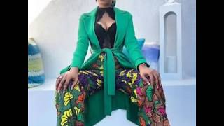 STYLE IT WITH 2019 BEST ANKARA JUMPSUITS FOR WORKING CLASS LADIES