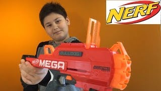 [REVIEW] Mega Accustrike Bulldog | NERF MEGA ACCUSTRİKE BULLDOG Açılış | ABC KEREM