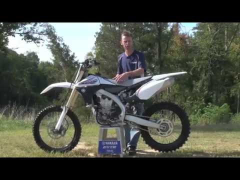 2010 Yamaha YZ450f Ride Impression Video