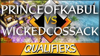 ⚔️🌟 AoE3 NWC QUALIFICATION SERIES: WickedCossack vs PrinceofKabul (winner goes to LAN)