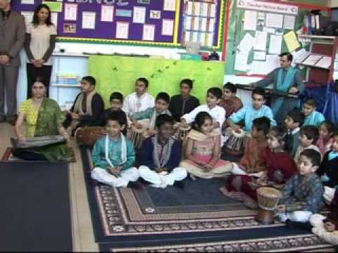 Their Royal Highnesses visit The Swaminarayan School, London