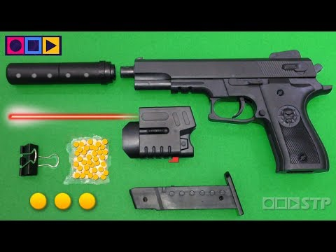 Realistic Toy Gun for Kids Airsoft Ball Bullet Shooter Toy Pistol Weapon Toys for Children
