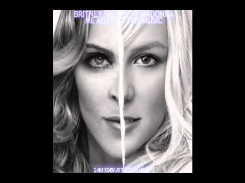 Britney Spears Ft Madonna - Me Against The Music (male Version) video