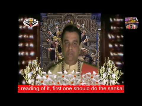 Chandi Saptashati-(introduction 1) Part 1 By Pandit Sri Shankar Parial Sastri video