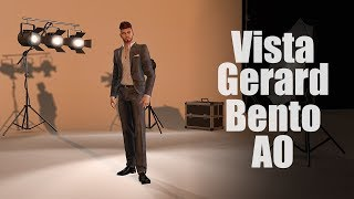Vista Gerard Male Bento AO in Second Life
